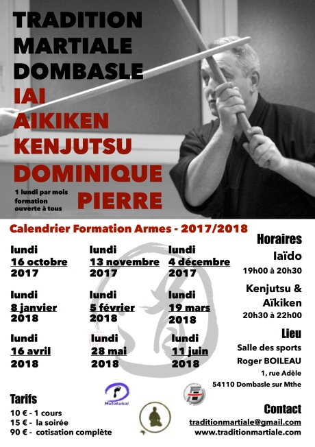 Formation armes 17-18
