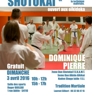 KARATE SHOTOKAI 3 avril 2016