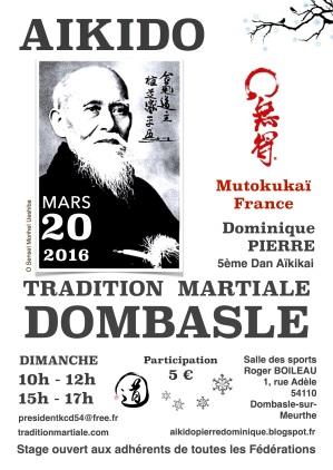 Aikido 20 mars 2016 TMD