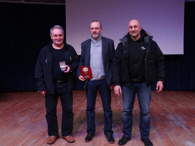 Dom, Marc et Laurent à l'honneur , Remise des Trophées 2016 © Tradition Martiale Dombasle