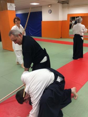 Cours de Kenjutsu, 11 janvier 2016 © Tradition Martiale Dombasle