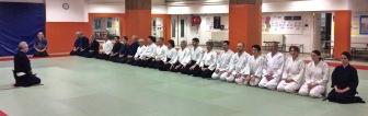 Formation Armes : Iaïdo et kenjutsu, 11 janvier 2016 © Tradition Martiale Dombasle