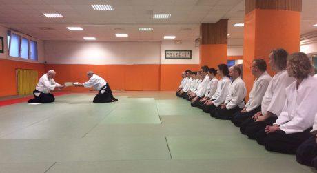 Dominique Pierre 6eme Dan Aïkido Aikikaï Hombu Dojo -